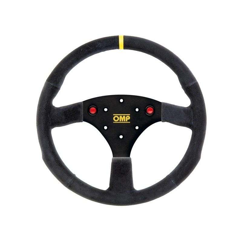 Kierownica OMP 320 ALU S z przyciskami - GRUBYGARAGE - Sklep Tuningowy